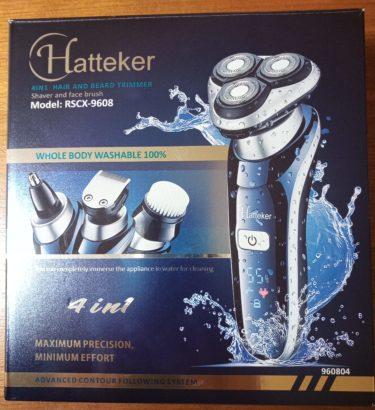 謎のメーカーHattekerのシェーバー買って使ってみた、使用感をレビュー