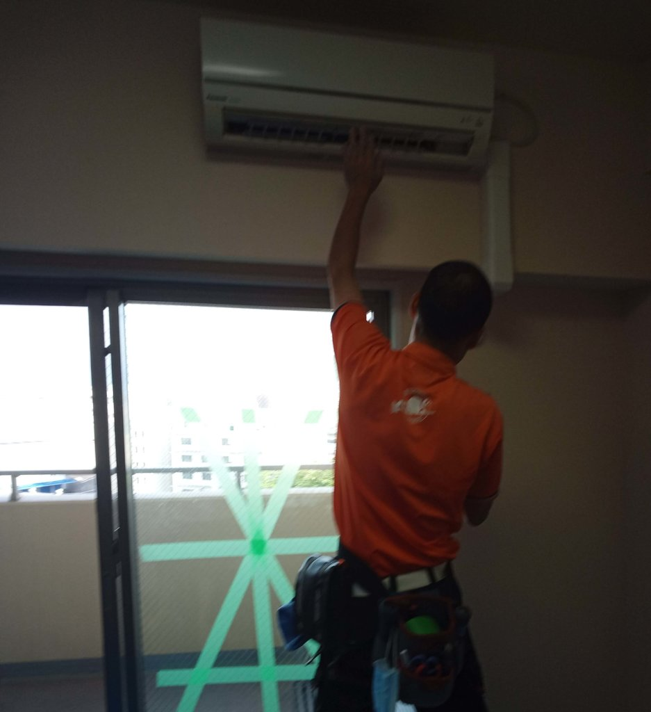 エアコン掃除1