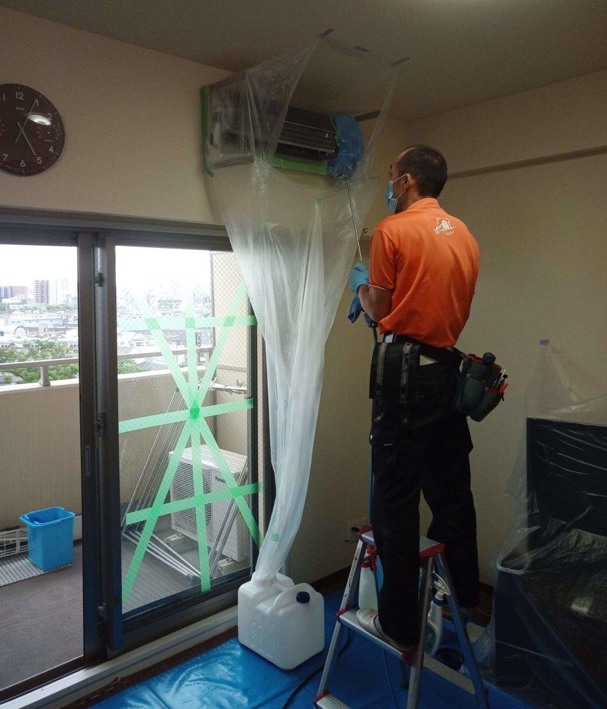 エアコン掃除5