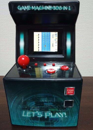 クレーンゲームでとったGAME MACHINE 108 in 1に遊べるゲームはあるの?レビュー