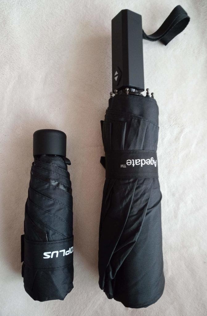 傘の大きさ比較