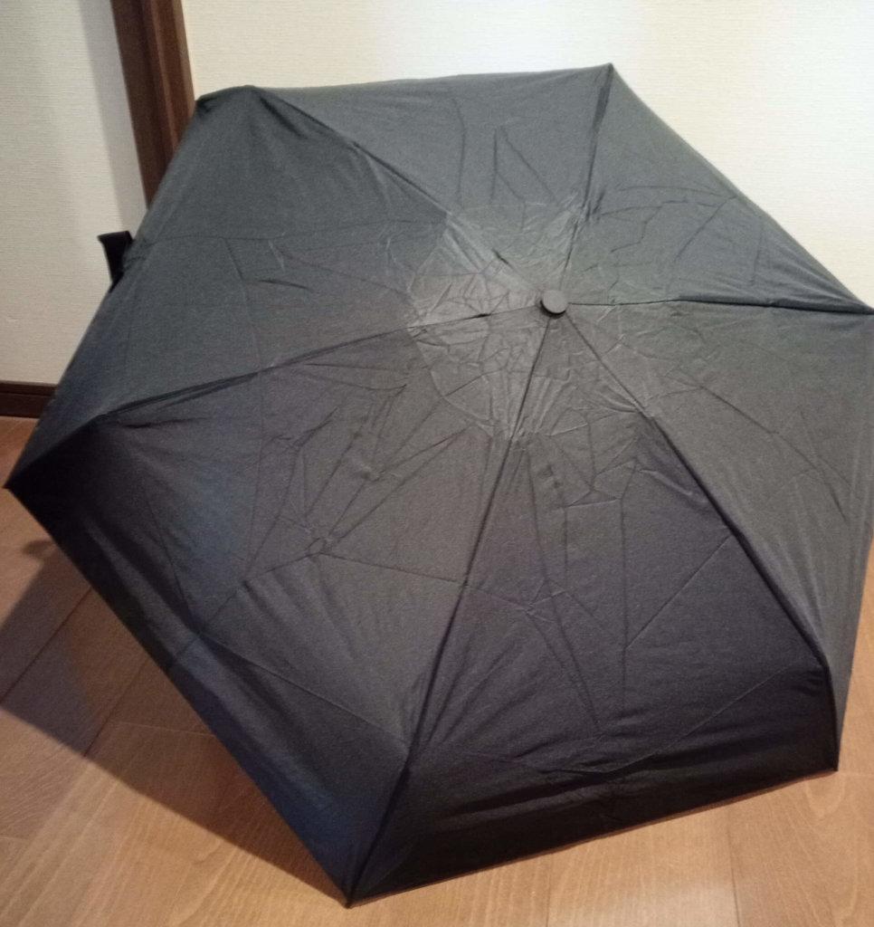 Toplus折りたたみ傘開く