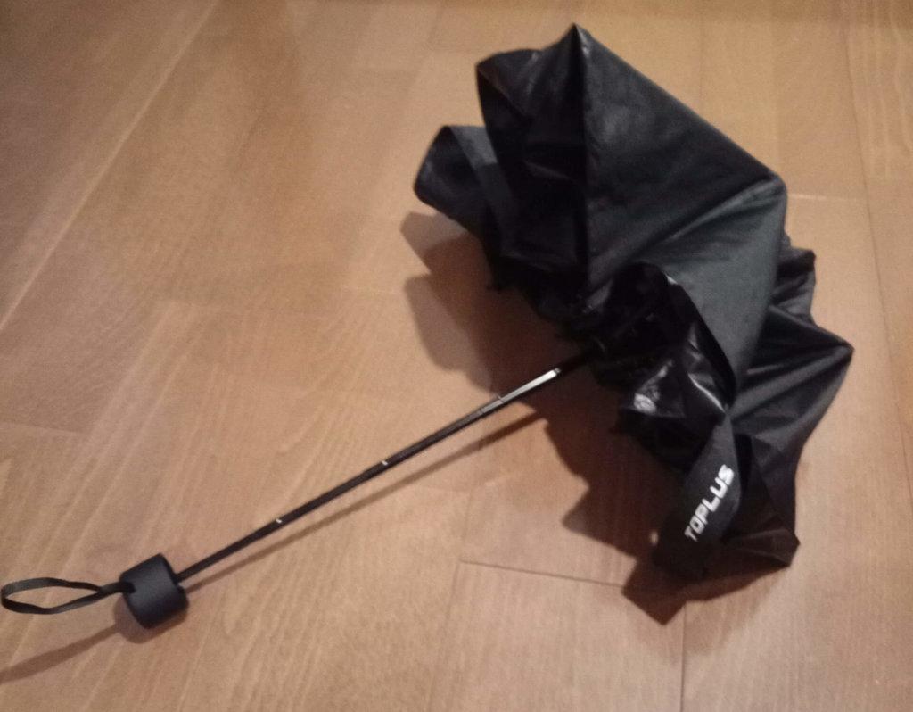 Toplus折りたたみ傘閉じる