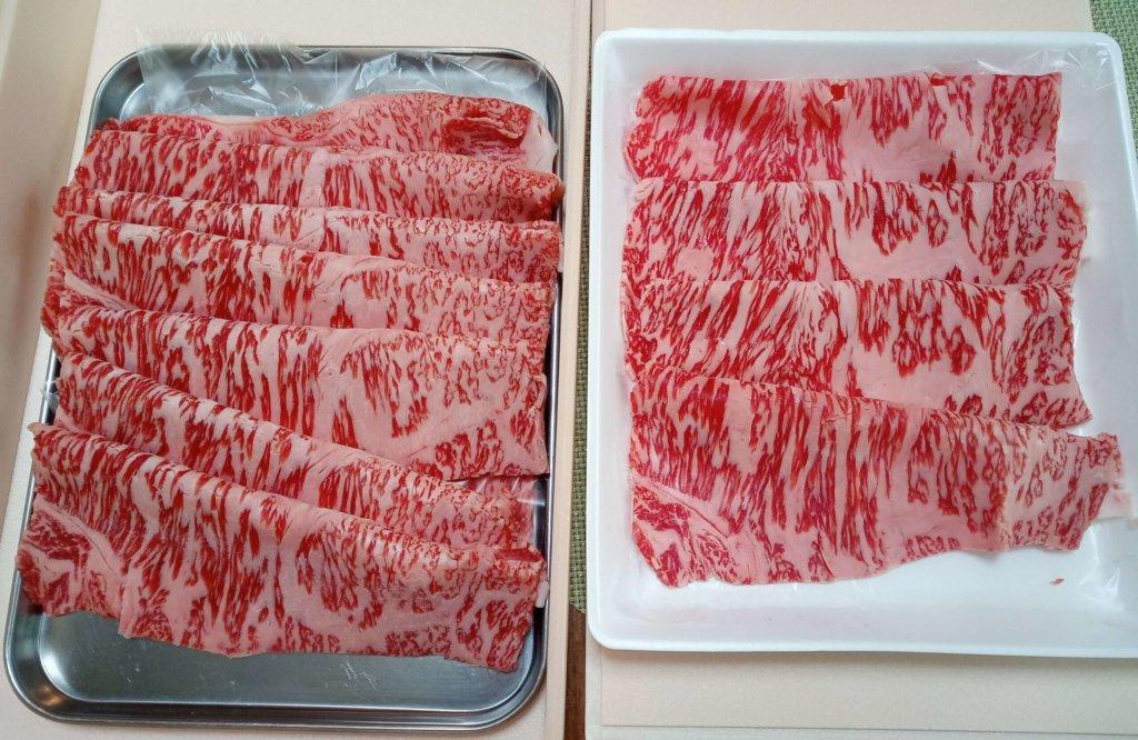 和牛霜降肉