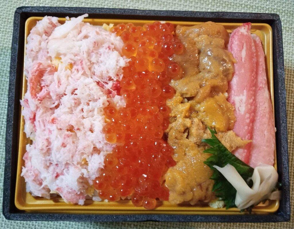 贅沢海鮮ちらし寿司中身